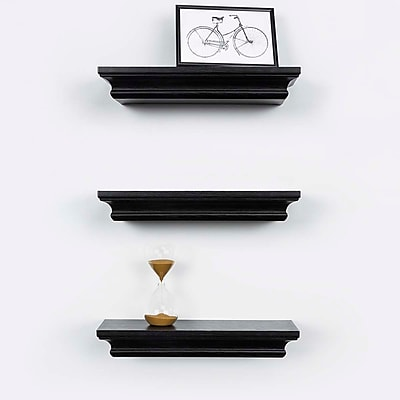 Kiera Grace Boston Wall Shelf, 12