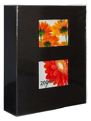 Kiera Grace Photo Album, Holds 200 4-Inch by 6-Inch Photos, Black (PH43566-8IC)