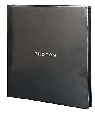 Kiera Grace Photo Album, Holds 400 4-Inch by 6-Inch Photos, Black (PH43913-0IC)