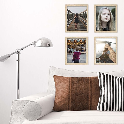 Kiera Grace Linear Picture Frame, 8 by 10-Inch, Natural Oak (PH44063 ...
