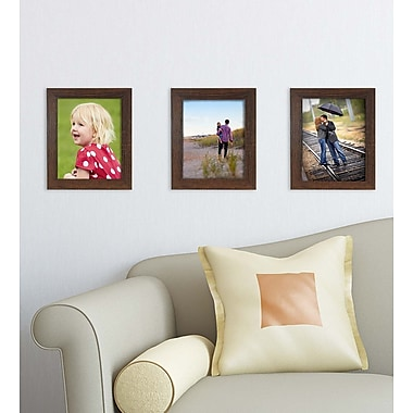 Kiera Grace Loft Picture Frame, 8 by 10-Inch, Driftwood Espresso (PH44086-0MC)
