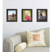 Kiera Grace Loft Picture Frame, 8 by 10-Inch, Driftwood Black (PH44089-1MC)