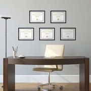 Kiera Grace Linear Document Frame, 8.5 by 11-Inch, Driftwood Black (PH44108-9MC)