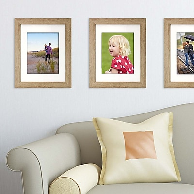 Kiera Grace Loft Picture Frame, 11 by 14-Inch Matted for 8 by 10-Inch, Driftwood Grey (PH44113-3MC)