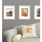 Kiera Grace Loft Picture Frame, 11 by 14-Inch Matted for 8 by 10-Inch, Pale Driftwood (PH44124-9MC)