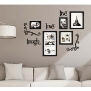 Kiera Grace Haus 10 Piece Wall Frame Set, 5 Frames, 5 Piece Wall Decor (PH44130-0INT)