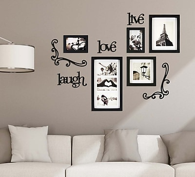 Kiera Grace Haus 10 Piece Wall Frame Set 5 Frames 5 Piece Wall