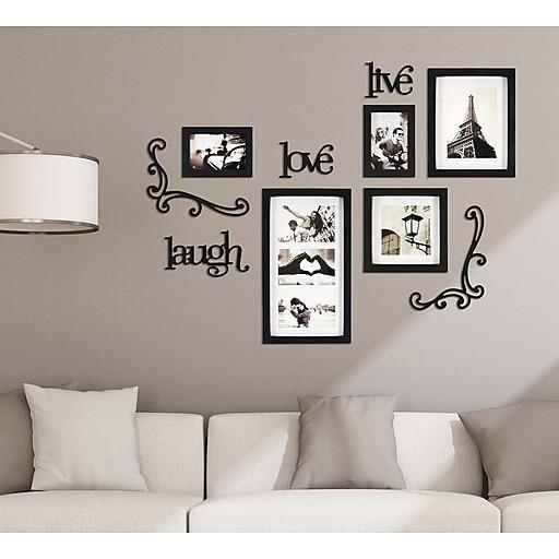 Kiera Grace Haus 10 Piece Wall Frame Set 5 Frames 5 Piece Wall