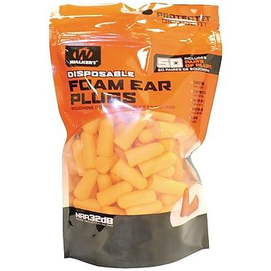 Walker's Game Ear Foam Ear Plugs, 100 pk (GWP-FP50-BAG)