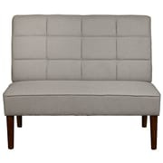 Right2Home Upholstered Whisper Platinum Bench (DS-D110-400-496)