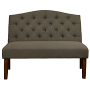 """Right2Home Nail Head Shaped King Polyester Headboard 80.5"""" L x 3.5"""" W x 58.5"""" H Velvet Shimmer (DS-2532-270-207)"""