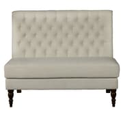 Right2Home Button-Tufted Aria Porcelain Bench (DS-2506-400-489)