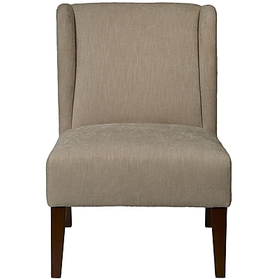 Right2Home Upholstered Dudley Latte Chair (DS-D102001-474)