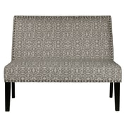 Right2Home Upholstered Batu Dove Bench (DS-2183-400-490)