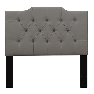 Right2Home Saddle Back King Polyester Headboard 77.0