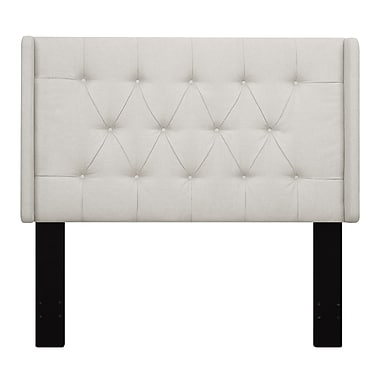 Right2Home Shelter Button Tufted Full / Queen Polyester Headboard 64.5