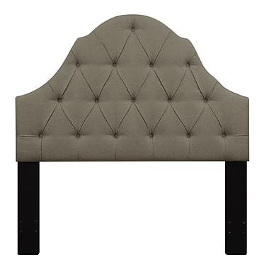 Right2Home Shaped Camel Back King Polyester Headboard 77.0