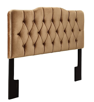 Right2Home Soft Shape Full / Queen Polyester Headboard 80.7