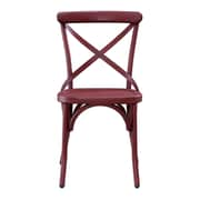 Right2Home Dining Chair Metallic Red (DS-D069)