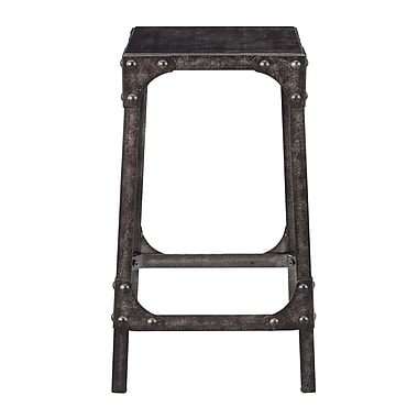 Right2Home Max Seat Height 24.25 Inches Backless Maywood Industrial Gathering Height Stool (DS-D087)