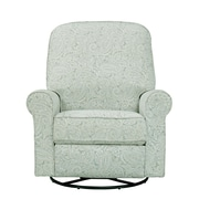 Right2Home Cotton Swivel Glider Recliner Spearmint Paisley (DS-911-006-533)