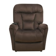 Right2Home Polyester Dual Motor Lift Chair Dark Brown (DS-A278-016-349)