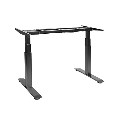 Seville Classics AIRLIFT™ S3 Electric Height-Adjustable Standing Desk (BASE ONLY), Black (OFF65803)
