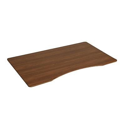 Seville Classics Ergo Desktop Table Top with Beveled Bottom Edges, 54