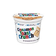 General Mills Cinnamon Toast Crunch Cereal & Breakfast Foods, Cinnamon Sugar, 2 Oz., 6/Box (13897)