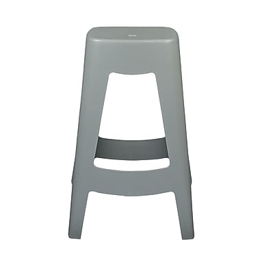 Euro Style Coda Stackable Counter Stool in Gray (90335GRY-MP4)