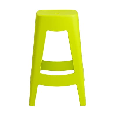 Euro Style Coda Stackable Counter Stool in Lime Green (90335GRN-MP4)