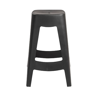 Euro Style Coda Stackable Counter Stool in Black (90335BLK-MP4)