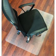 "Mammoth Office Products 36""W x 48""L PVC Antistatic Chairmat for Standard Pile Carpet Rectangular with Lip (V3648LAS)"