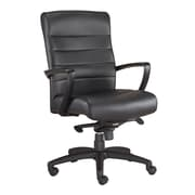 Mammoth Office Products  Leather Mid Back Chair Black (M5200)