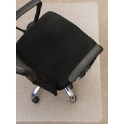 "Mammoth Office Products 36""W x 48""L PVC Chair Mat for Medium Pile Carpet Rectangular with Lip (V3648LMP)"