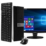 """Dell OptiPlex 5040 Refurbished Desktop Computer with 20"""" LCD Monitor, Intel i5, 16GB RAM, 1TB SSD"""