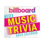 "2018 Sellers Publishing, Inc. 5"" x 6"" Billboard® Music Trivia Boxed Daily Calendar (CB0238)"