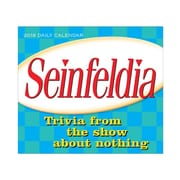 "2018 Sellers Publishing, Inc. 5"" x 6"" Seinfeldia: Trivia From The Show About Nothing Boxed Daily Calendar (CB0276)"