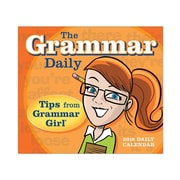 "2018 Sellers Publishing, Inc. 5"" x 6"" Grammar Daily: Tips From Grammar Girl® Boxed Daily Calendar (CB0278)"