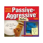 "2018 Sellers Publishing, Inc. 5"" x 6"" Passive-Aggressive Notes Boxed Daily Calendar (CB0257)"