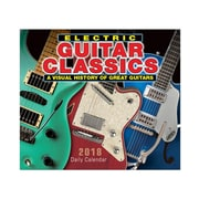"2018 Sellers Publishing, Inc. 5"" x 6"" Electric Guitar Classics: A Visual History Of Great Guitars Boxed Daily Calendar (CB0246)"