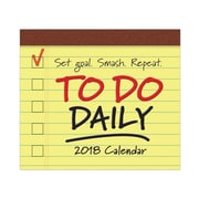 "2018 Sellers Publishing, Inc. 5"" x 6"" To Do Daily Boxed Daily Calendar (CB0243)"