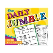 "2018 Sellers Publishing, Inc. 5"" x 6"" Daily Jumble®, The Boxed Daily Calendar"