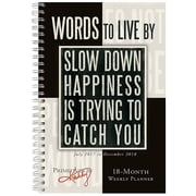 "2018 Sellers Publishing, Inc. 9"" x 6"" Words To Live By (CW0229)"