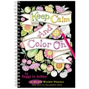 "2018 Sellers Publishing, Inc. 9"" x 6"" Keep Calm & Color On (CW0223)"