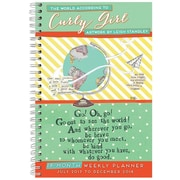 "2018 Sellers Publishing, Inc. 9"" x 6"" World According To Curly Girl, The"