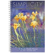 "2018 Sellers Publishing, Inc. 9"" x 6"" Simplicity: Inspirations For A Simpler Life (CW0226)"