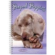 "2018 Sellers Publishing, Inc. 9"" x 6"" Pooped Puppies (CW0225)"