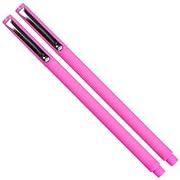 JAM Paper Felt Tip Pen, Fine Tip, Neon Pink Ink, 2/Pack (76530911a)