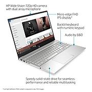 "HP 15.6"" Laptop, Intel i5, 12GB Memory, 256GB SSD, Windows 10, Silver (15-eg0065st)"
